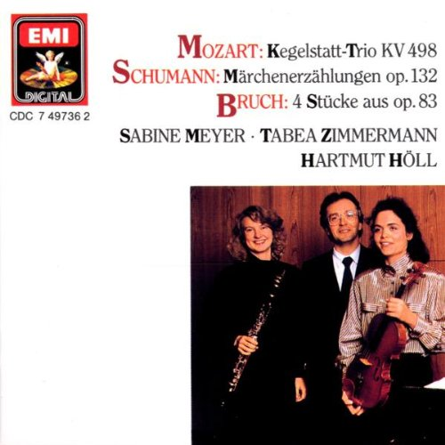 Mozart, Schumann, Bruch – Works for Clarinet, Viola and Piano