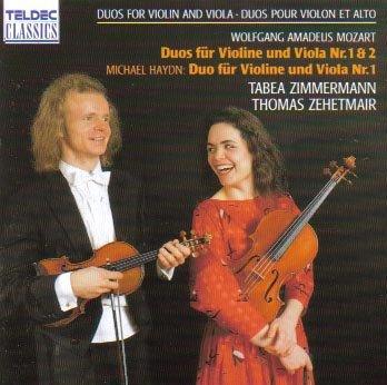 Mozart, Haydn – Duos für Violine und Viola