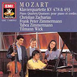 Mozart – Piano Quartets KV 478 & 493