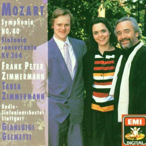 Mozart – Symphonie No. 40 · Sinfonia Concertante KV 364
