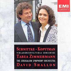 Schnittke, Kopytman – Viola Concertos