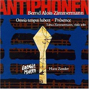 Bernd Alois Zimmermann – Antiphonen · Omnia Tempus Habent · Présence