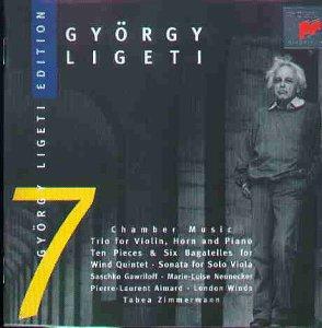 Ligeti – Sonata for Solo viola