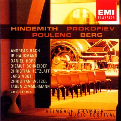 Hindemith, Prokofiev, Poulenc, Berg – Chamber Music