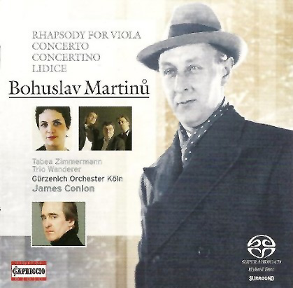 Martinu – Rhapsody-Concerto for Viola and Orchestra