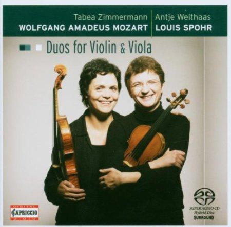Mozart, Spohr – Duos For Violin & Viola
