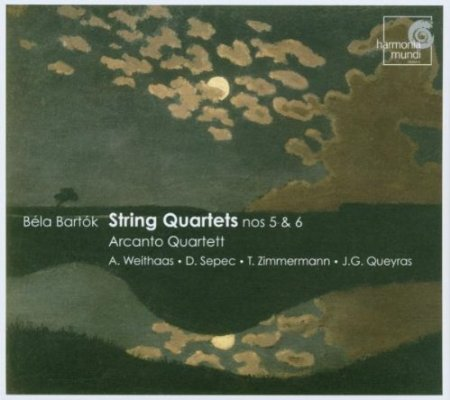 Bartók – String Quartets Nos 5 & 6