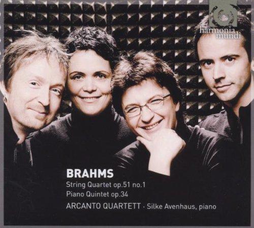 Brahms – String Quartet Op. 51 No. 1 ·  Piano Quintet Op. 34