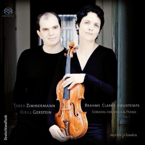 Brahms, Clarke, Vieuxtemps – Sonatas For Viola & Piano Vol. 1