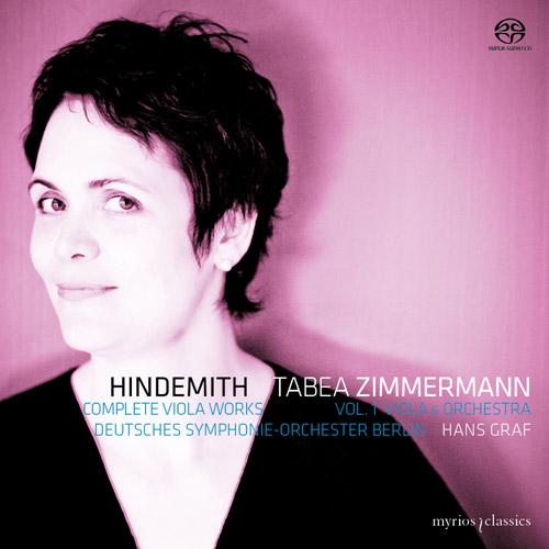 Hindemith – Complete Viola Works Vol. 1: Viola & Orchestra