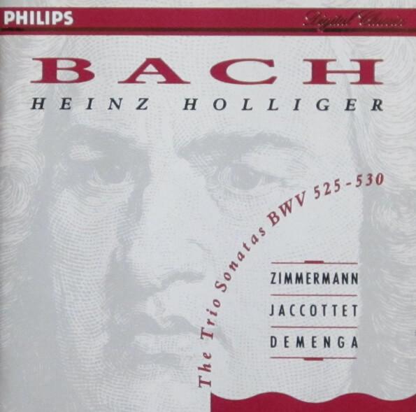 Bach – Trio sonatas BWV 525 - 530