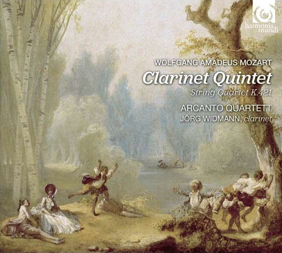 Mozart – Clarinet Quintet in A major K. 581 · String Quartet in D minor KV421