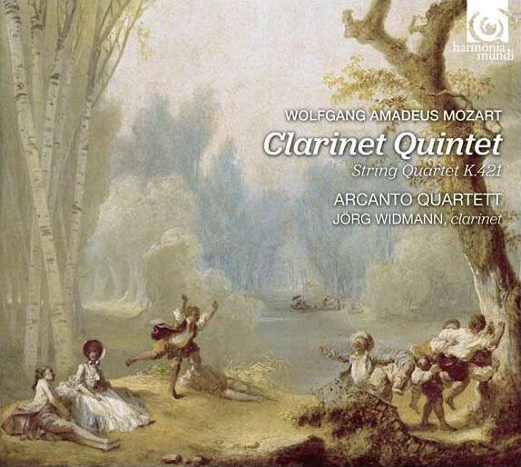 Mozart – Clarinet Quintet in A major K. 581 · String Quartet in D minor KV421